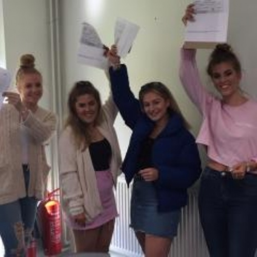 KEVI Students celebrate success at A Level